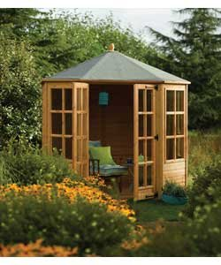 Garden rooms, summerhouses and log cabins