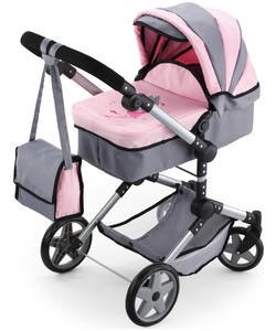 Doll prams and pushchairs