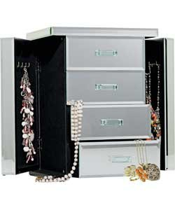 Jewellery boxes and hangers