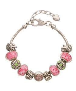 Ladies' charm bracelets and beads