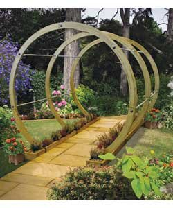 Garden bridges and walkways