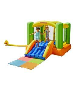 Bouncy castles and activity centres