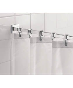 Shower curtains and poles
