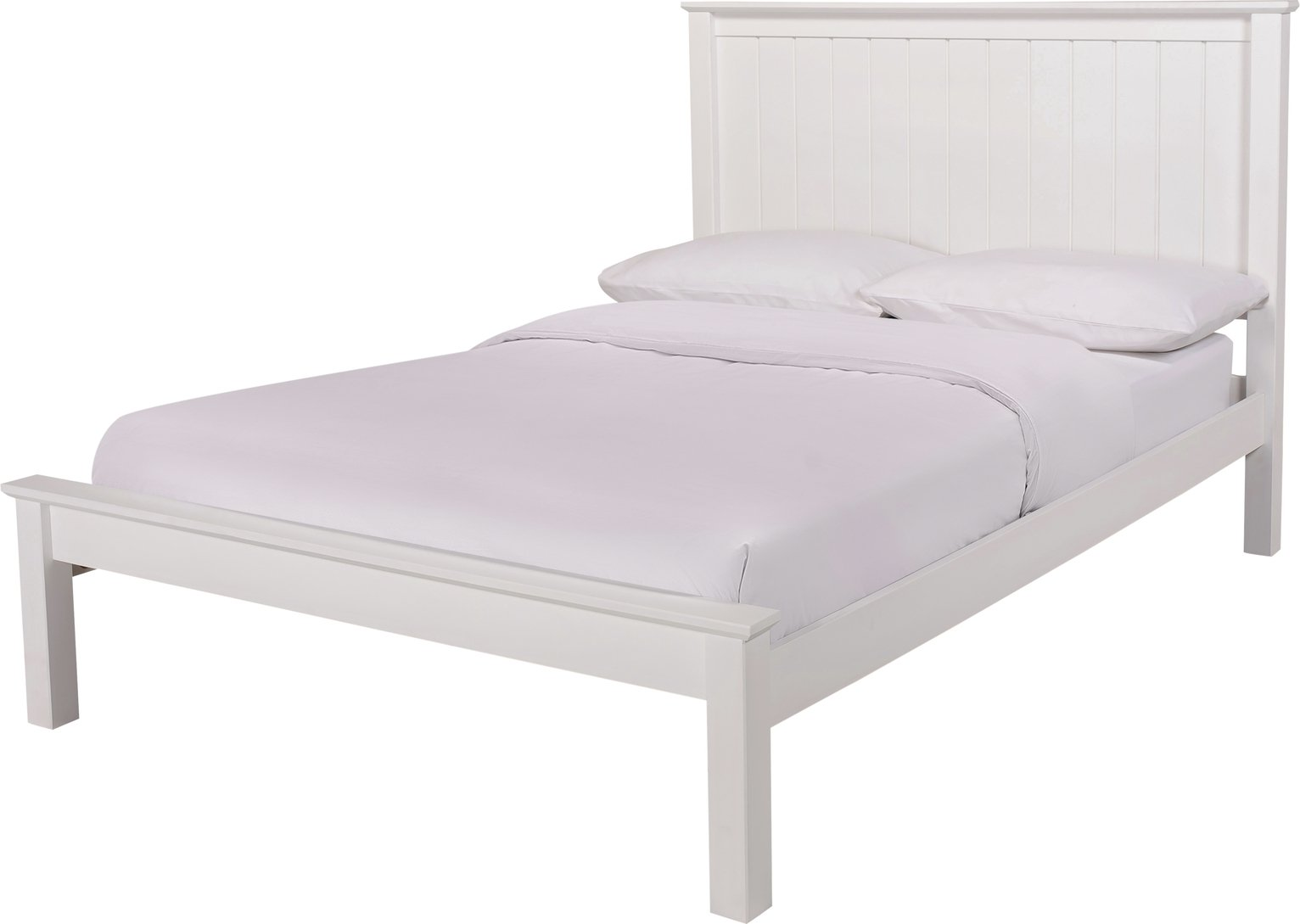 Argos Home Grafton Double Bed Frame - White