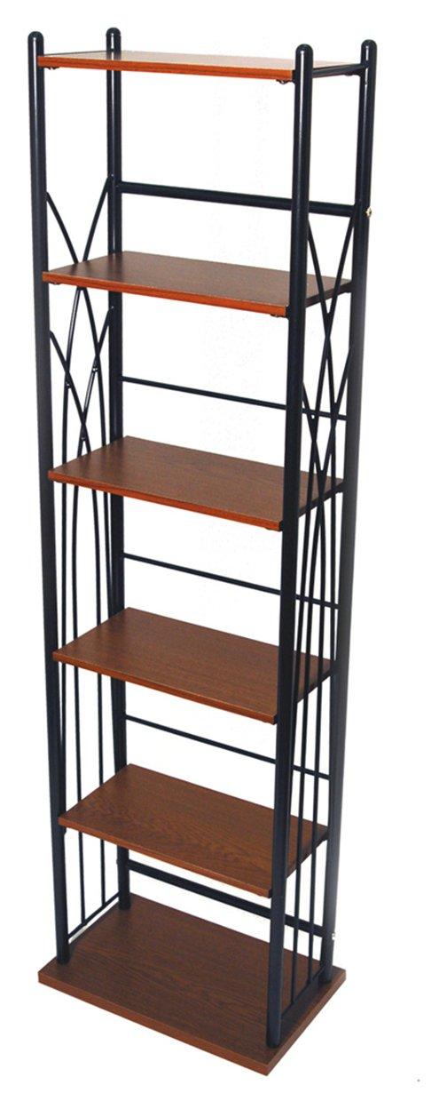 Image of CD and DVD Media Storage Tower Shelves - Black