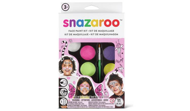 Snazaroo Pastels Face Paint Kit