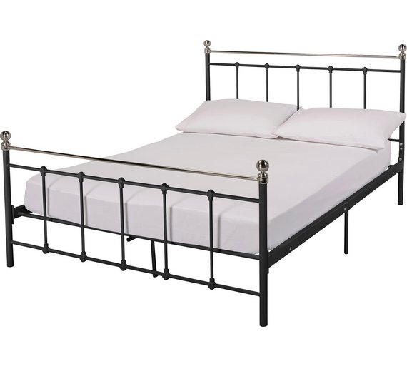 collection eversholt double bed frame black3307975 - Double Bed Frame