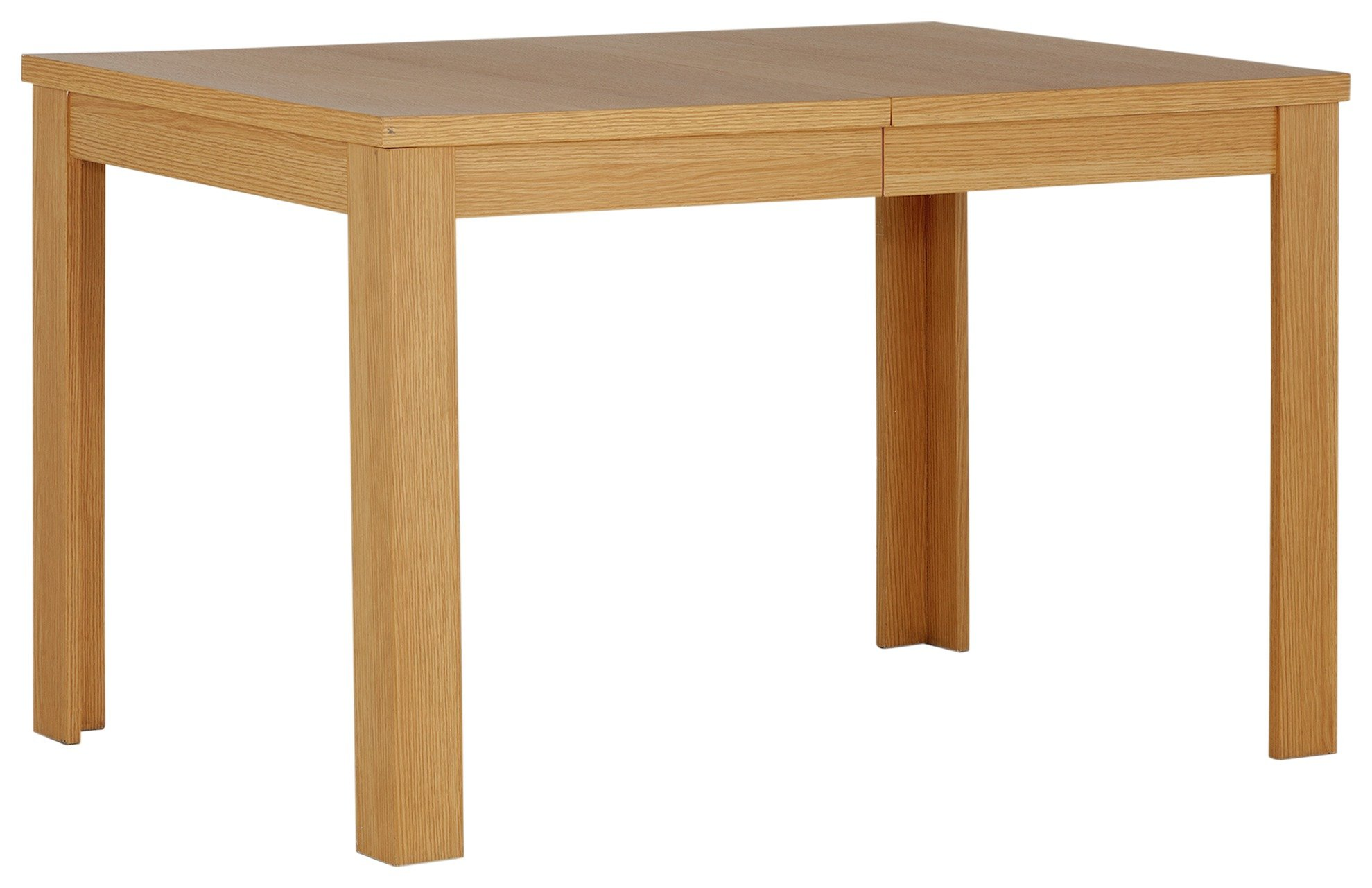 Image of Collection - Adaline Oak Effect Extendable - Dining Table