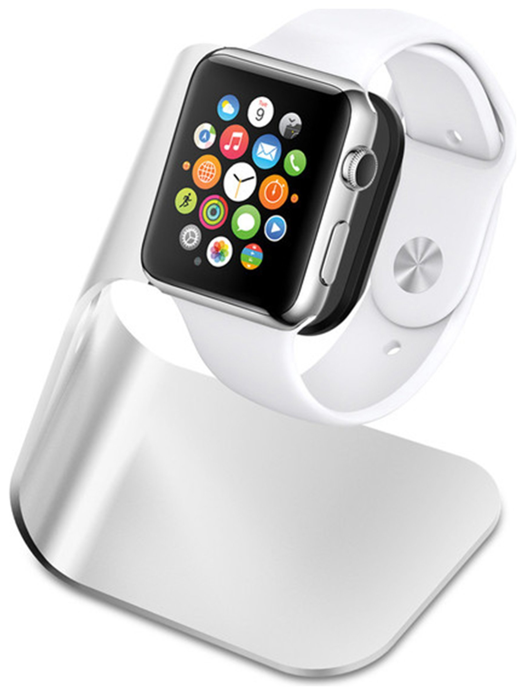 Apple Apple Spigen Watch Stand S330 - Silver.