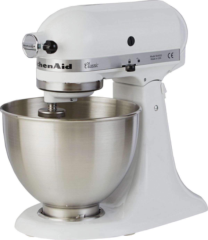 KitchenAid - 5K45SSBWH Classic Stand Mixer - White