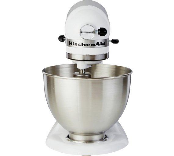 Buy KitchenAid 5K45SSBWH Classic Stand Mixer - White | Stand mixers ...
