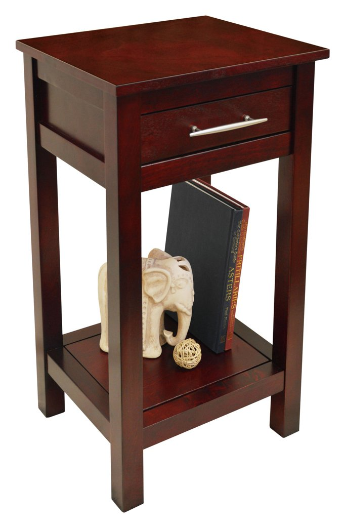 Compare retail prices of 1 Drawer 1 Shelf Telephone Table - Wenge. to get the best deal online