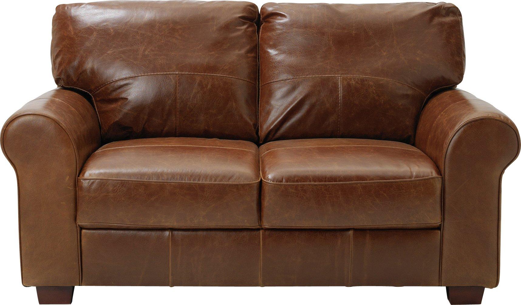Sale On Argos Home Salisbury 2 Seater Leather Sofa