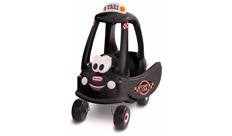 Buy Little Tikes Cozy Coupe Black Cab   Baby rocking horses and ride-ons    Argos