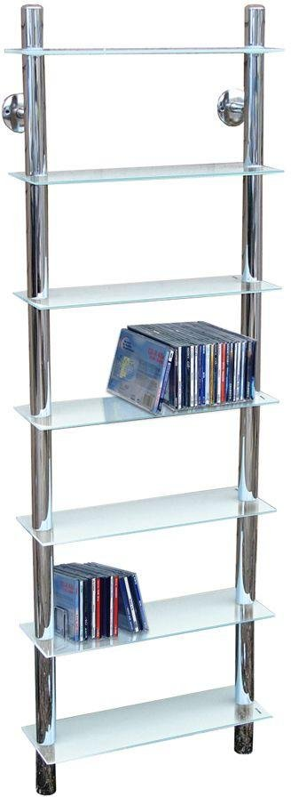 47cm Tall Shelving Unit - Clear Glass