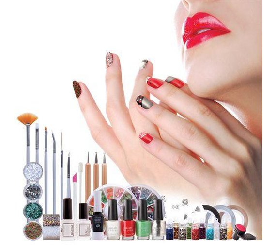 Buy rio ultimate nail art professional artist collection at argos rio ultimate nail art professional artist collection prinsesfo Gallery