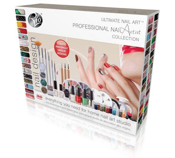 Buy Rio Ultimate Nail Art Professional Artist Collection Nails Argos