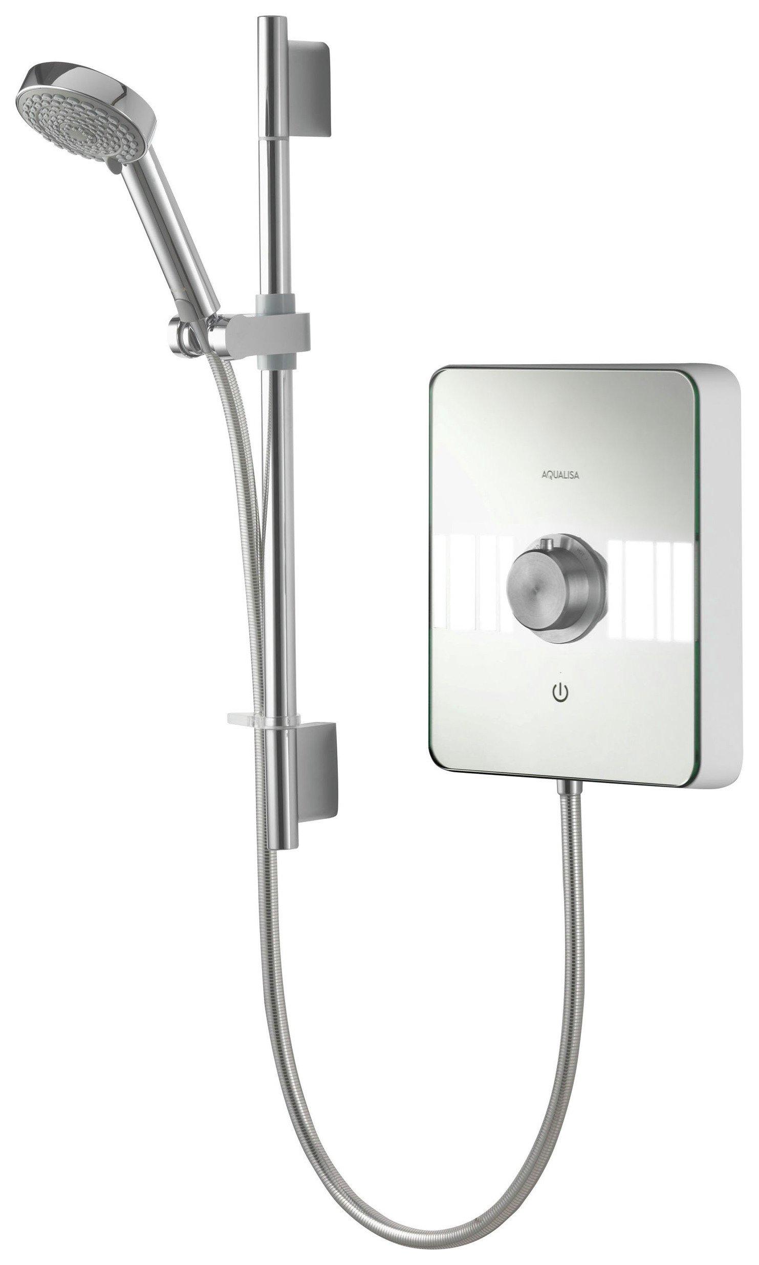 Image of Aqualisa Lumi 8.5kW Electric Shower - Chrome
