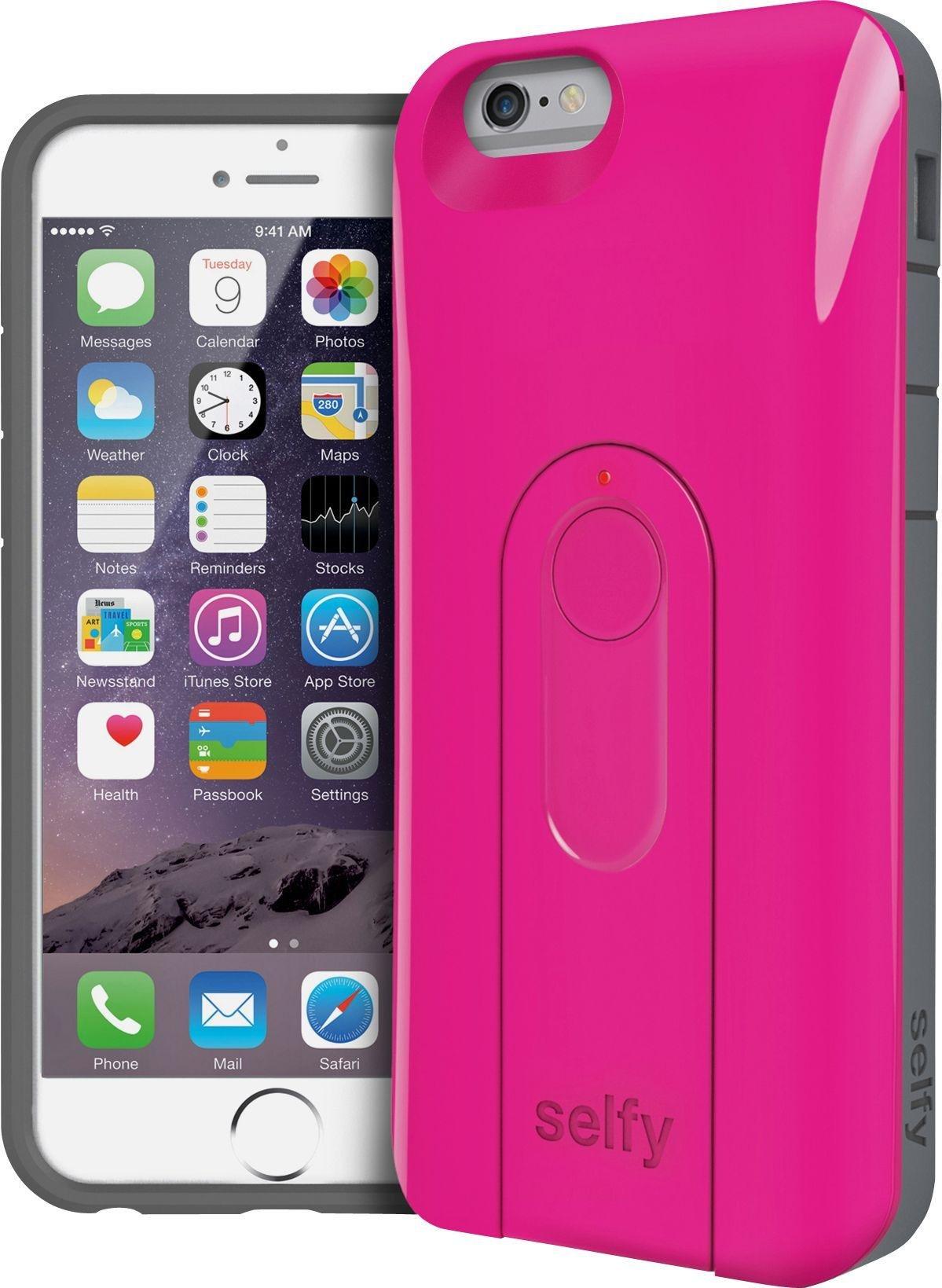 Selfy Selfy Wireless Camera Shutter iPhone 6 Case - Pink.
