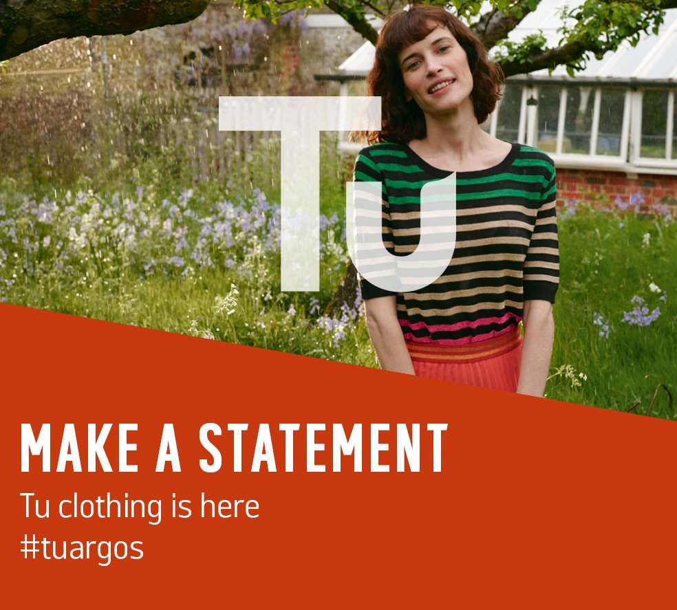 Make a statement. Tu clothing is here.