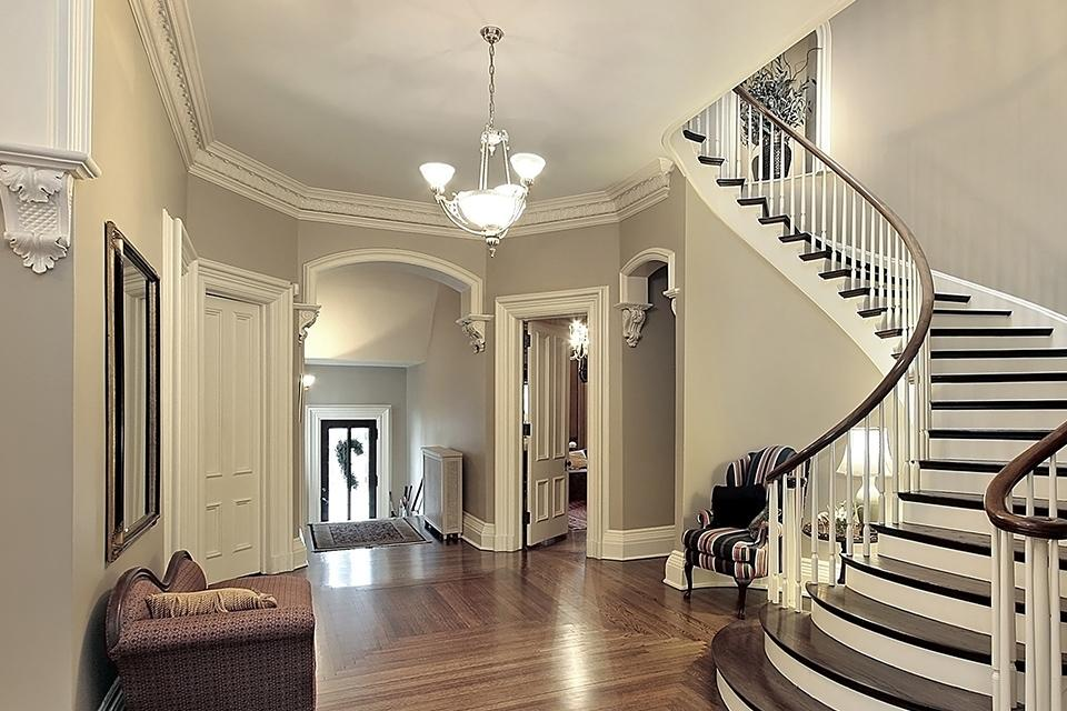 Hallway, landing and staircase lighting.