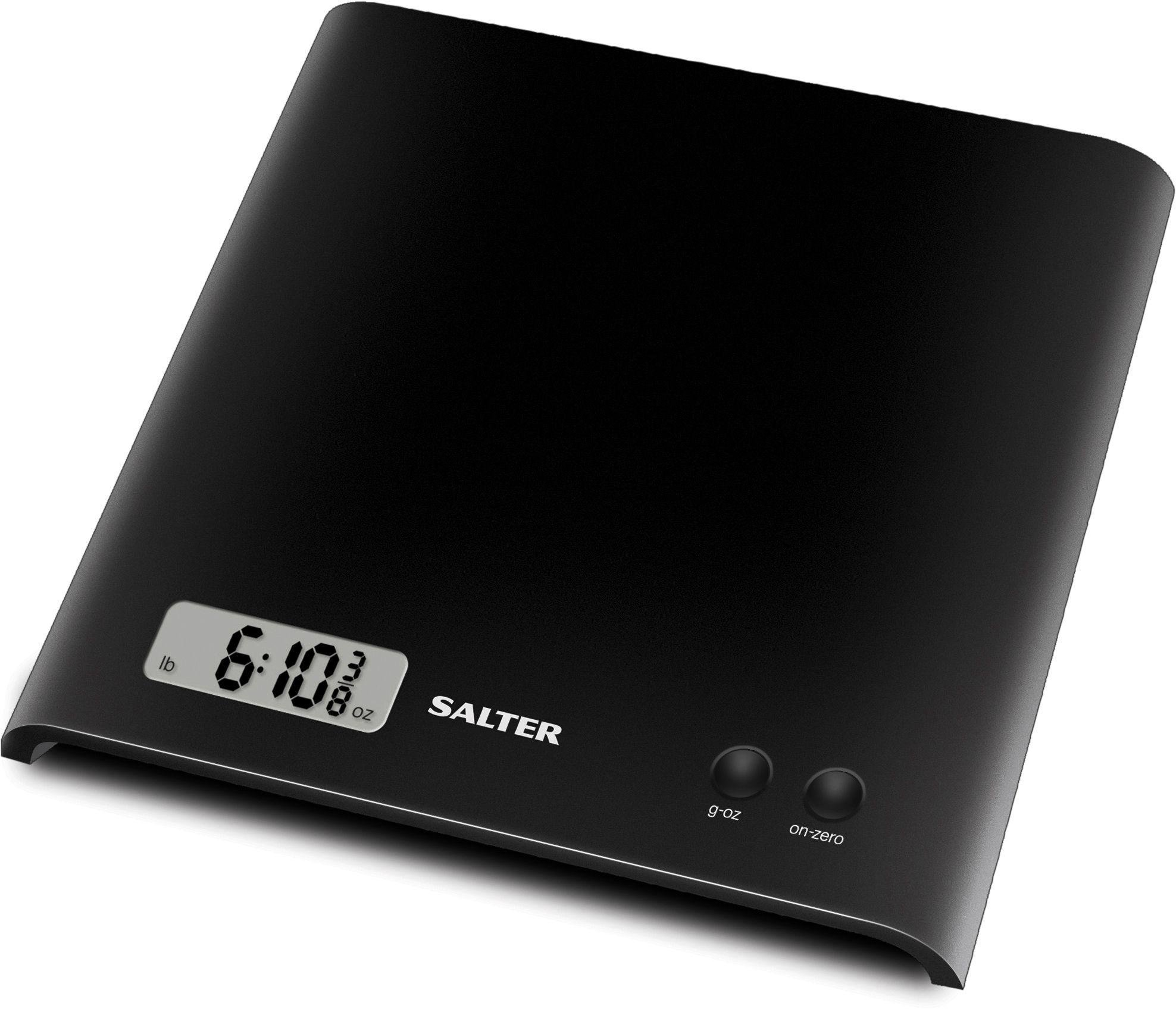 Salter Digital Kitchen Scale - Black