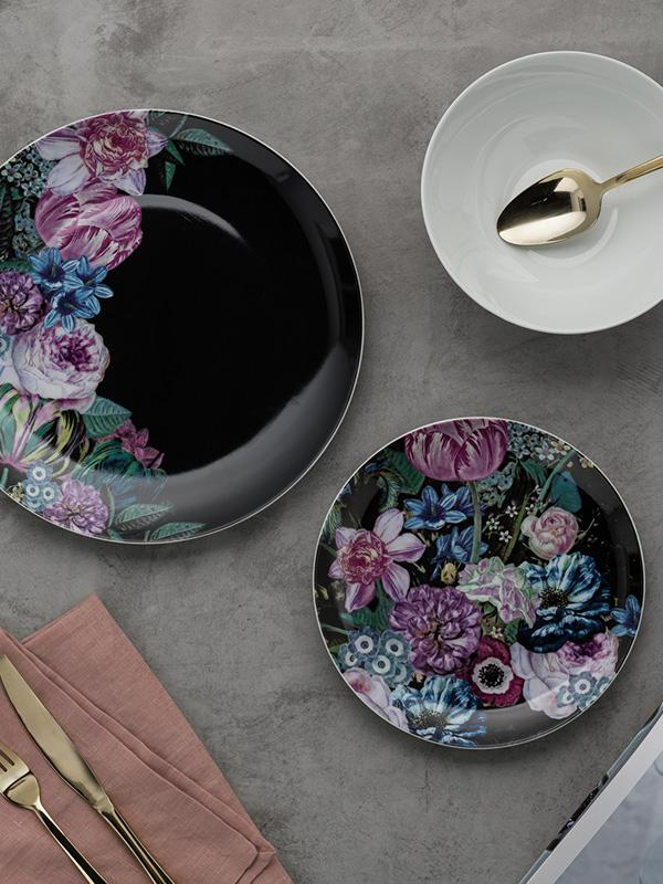 Argos Home 12 Piece Dinner Set - Floral.