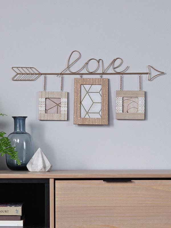 Home Living love hanging photo frame.