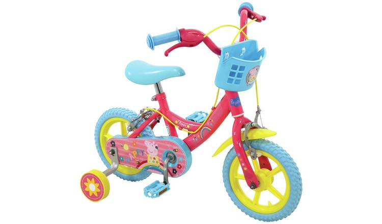 Peppa Pig 12 inch Wheel Size Kids Bike