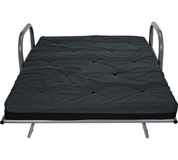 buy argos home mexico 2 seater futon sofa bed black. Black Bedroom Furniture Sets. Home Design Ideas