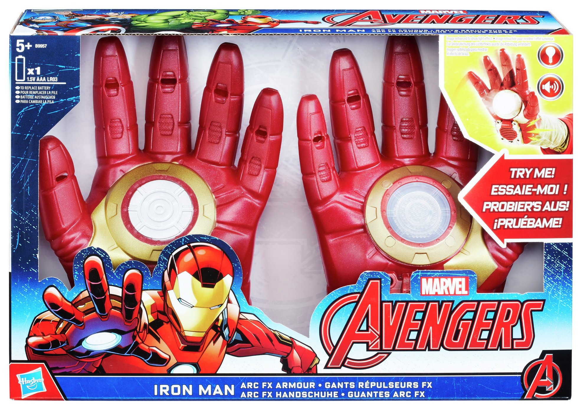 Image of Avengers Age Of Ultron Iron Man Arc FX Armour