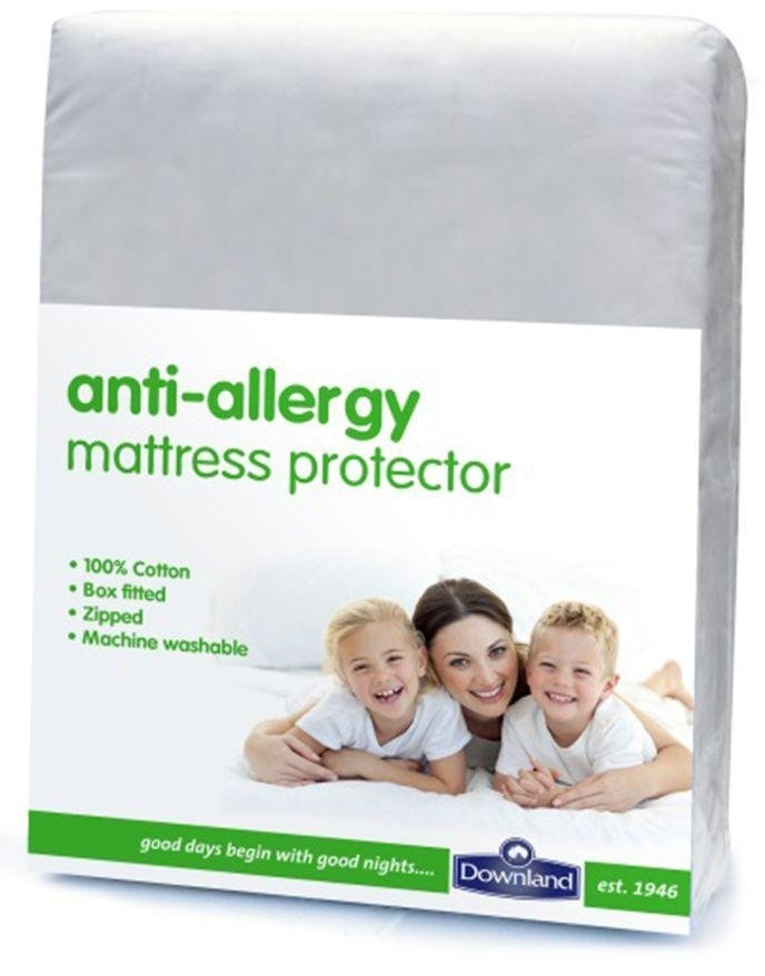 Image of Downland - Anti-Allergy Zipped - Mattress Protector - Kingsize