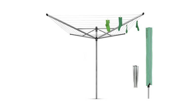 Brabantia 60m Lift-O-Matic Washing Line with Ground Spike
