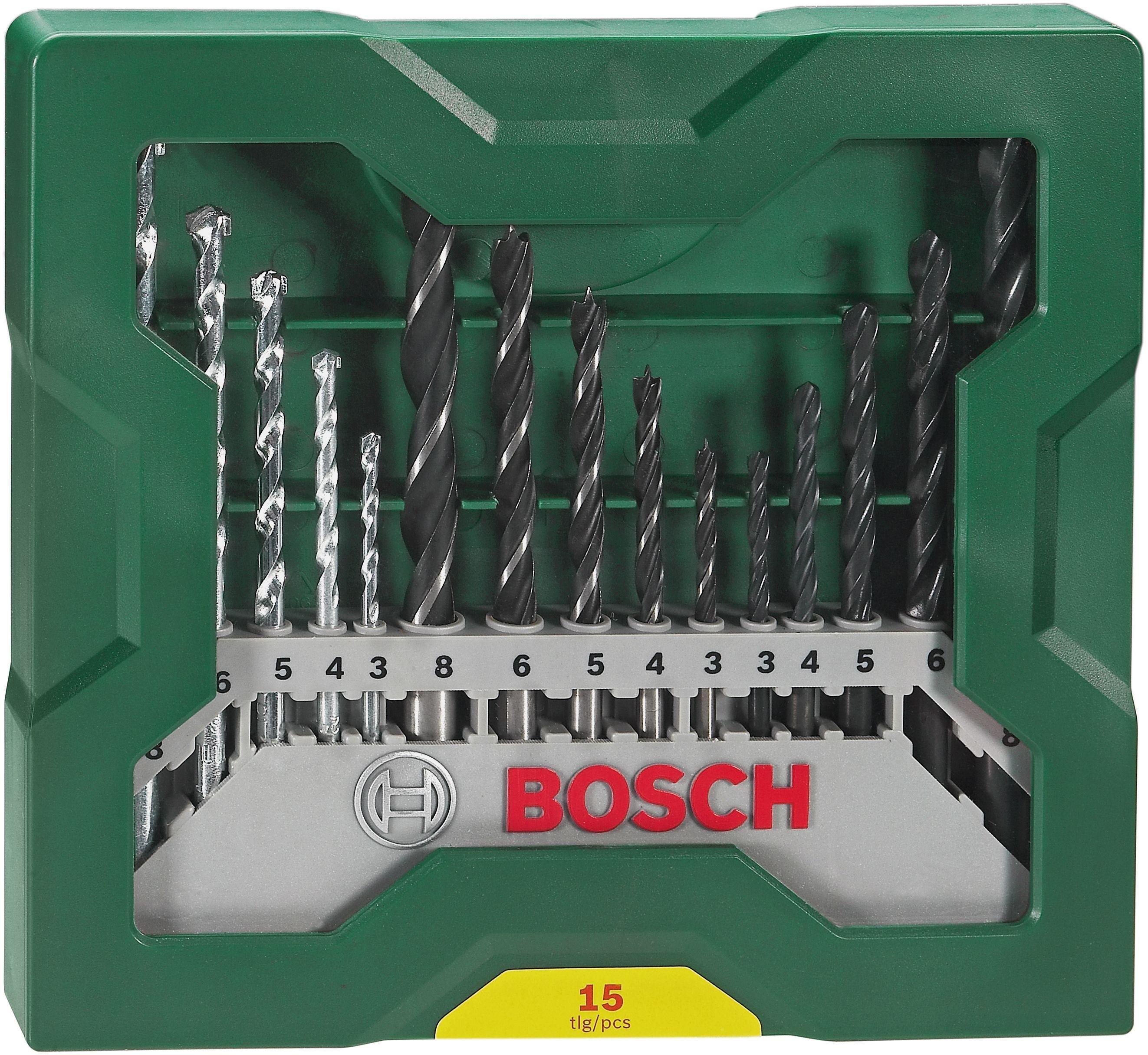 Image of Bosch - 15 Piece X-Line Drill Bit Set