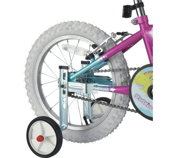 Bicycle Axle Extensions : Buy challenge inch bike stabilisers at argos