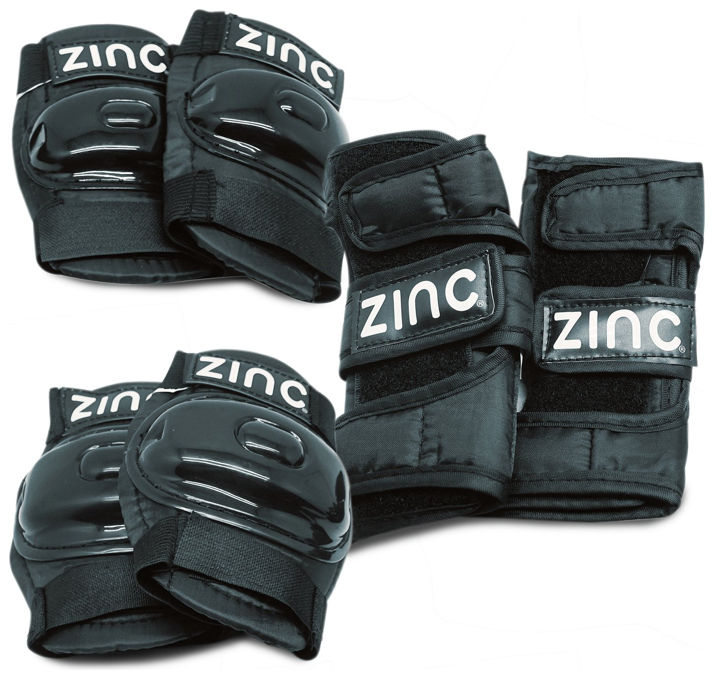 Zinc Protection Bike Safety Pads