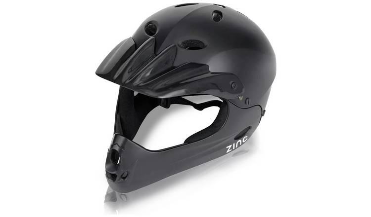 Buy Zinc Full Face Bike Helmet - Unisex   Cycle helmets   Argos