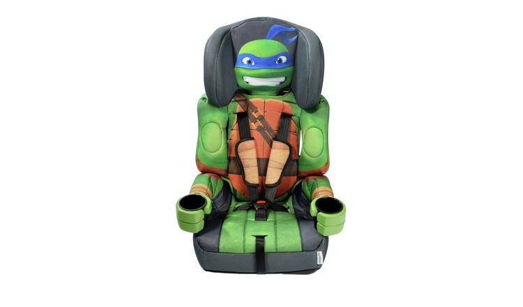 Kids Embrace TMNT Leo Group 1/2/3 Car Seat - Green