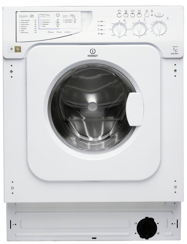 Indesit IWME147 7KG 1400 Spin Washing Machine - White