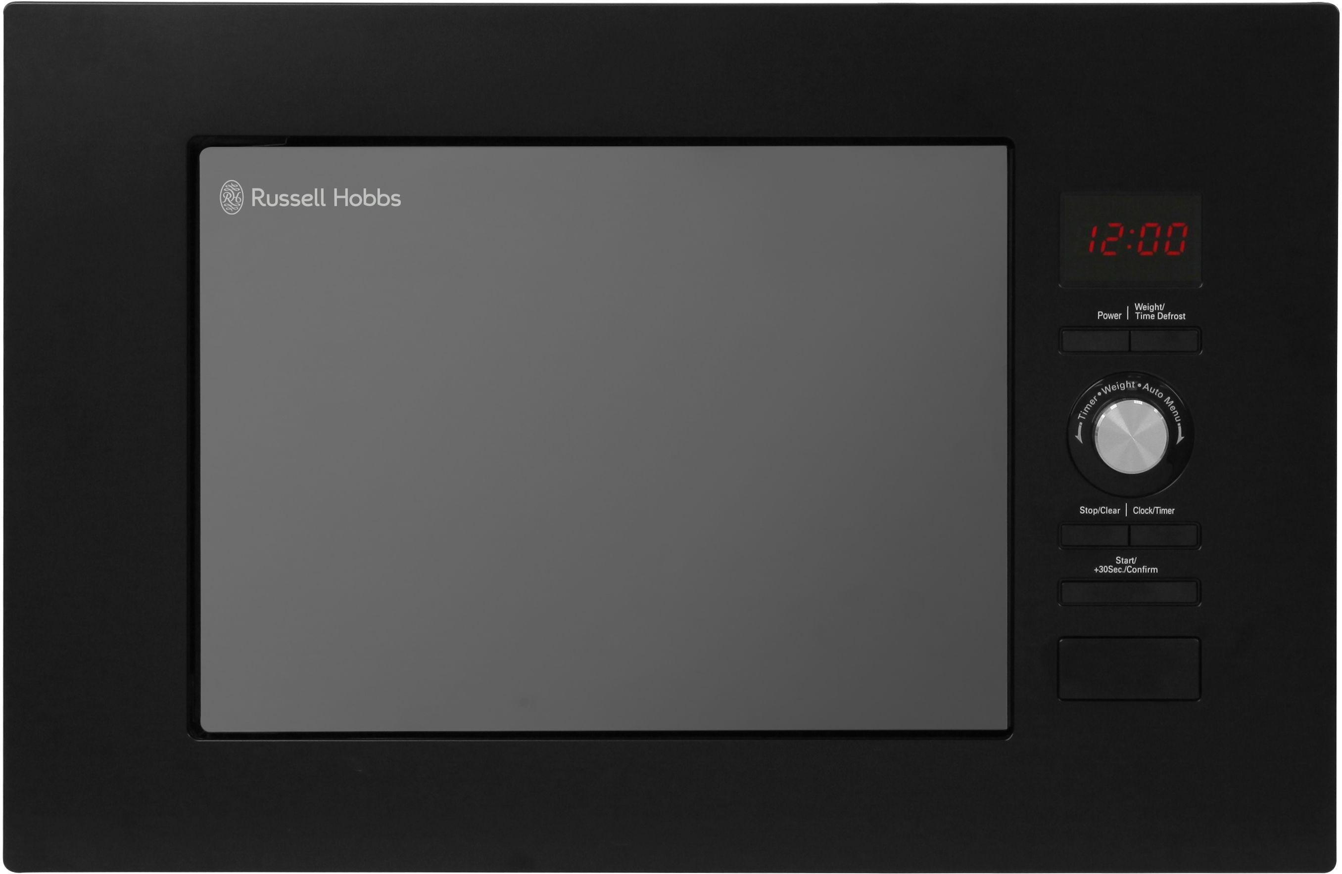Russell Hobbs - Built-in 20 Litre Digital Microwave - Black