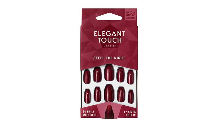 Elegant Touch Steel The Night Nails