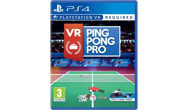 VR Ping Pong Pro PS VR Game (PS4)