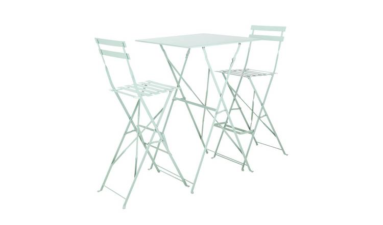 Argos Home Eve 2 Seater Bar Bistro Set - Sage