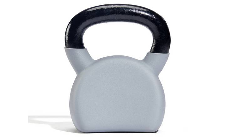 Women's Health Cast Iron and Rubber Kettlebell - 12kg
