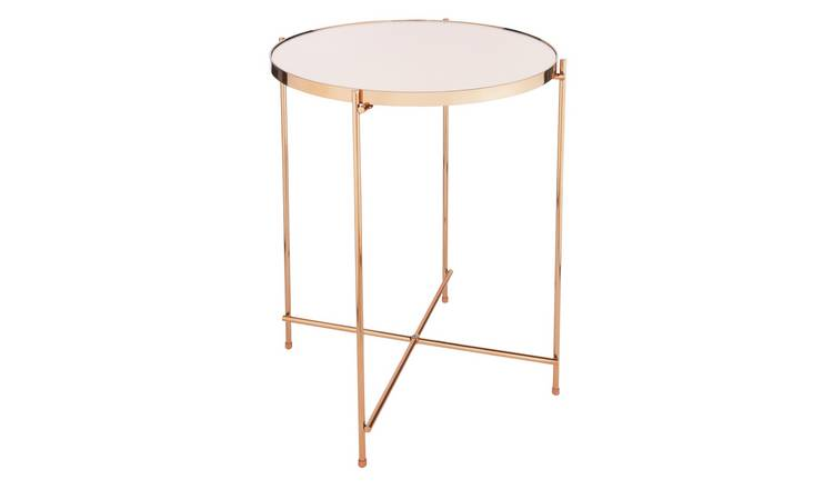 Argos Home Boutique End Table - Rose Gold