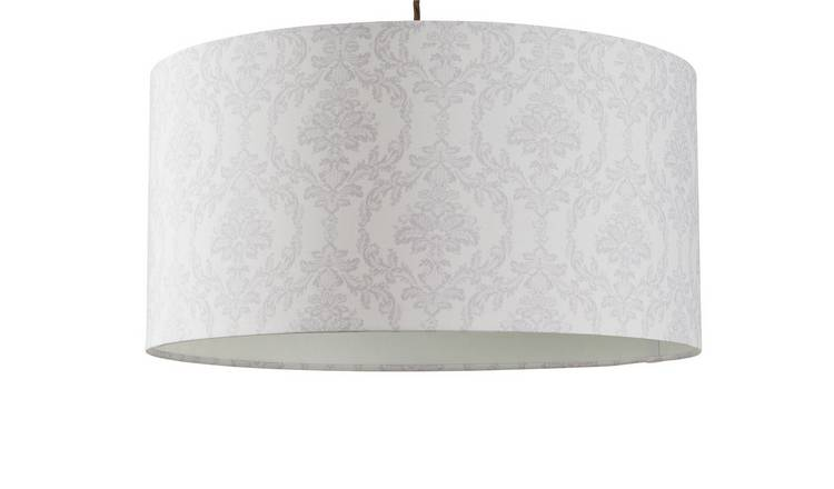 Argos Home Le Marais Damask Shade - Grey