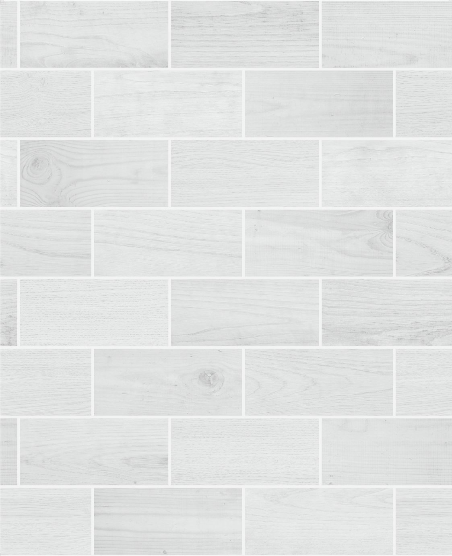 Contour Wooden Tile Grey Wallpaper