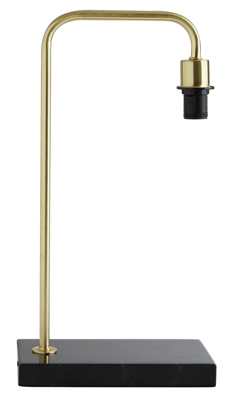 Habitat Marbelle Table Lamp Base - Brass