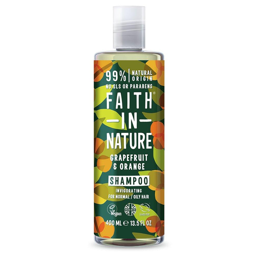 Faith in Nature Grapefuit and Orange Shampoo - 400ml