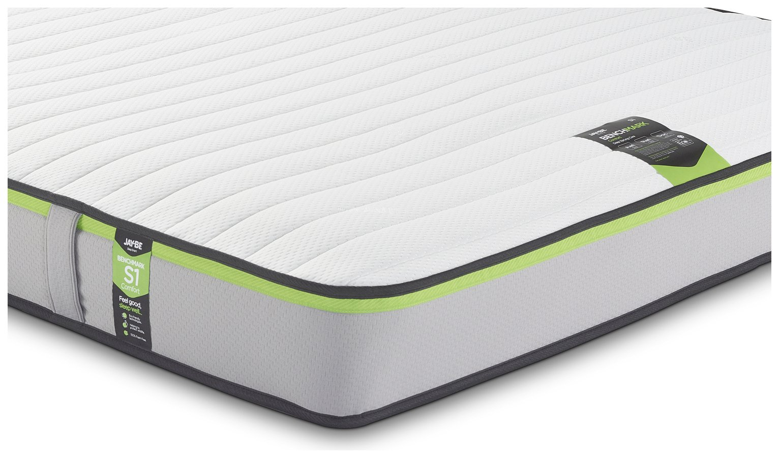 Jay-Be Benchmark S1 Comfort Eco Friendly Sml Double Mattress